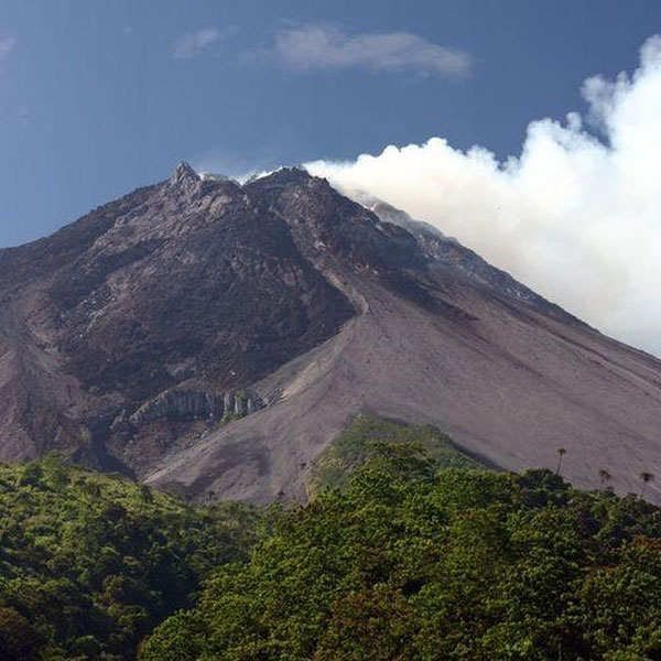 آتشفشان کوه مراپی