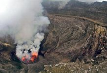آتشفشان کوه نایراگانگو، کنگو