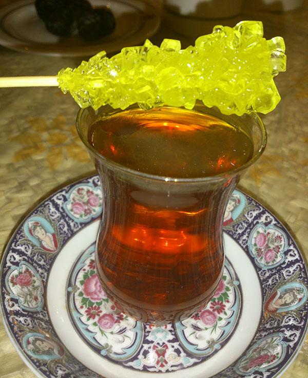 عکس چایی نبات