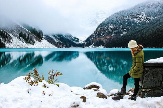 عکس پروفایل غمگین زمستانی و دخترانه جدید
