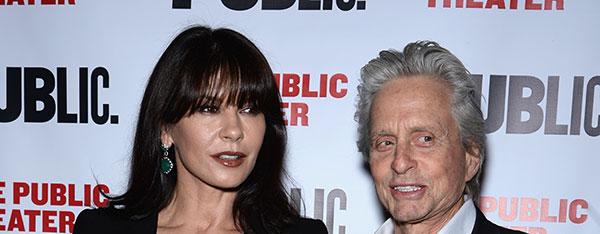 مایکل داگلاس و همسرش کاترین زتا جونز