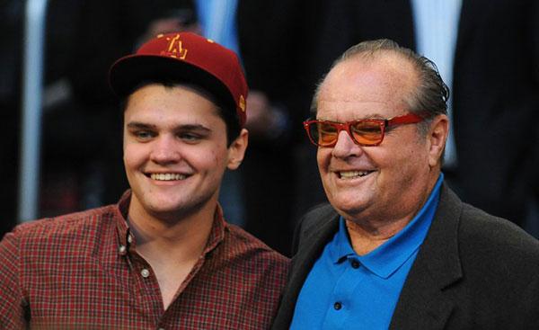 جک نیکلسون و پسرش ریموند