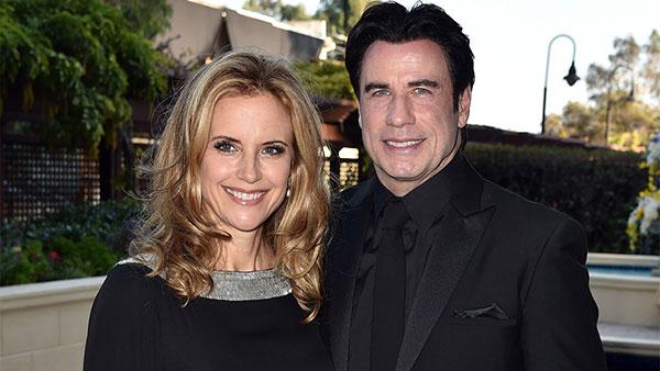 جان تراولتا و همسرش کلی پرستون