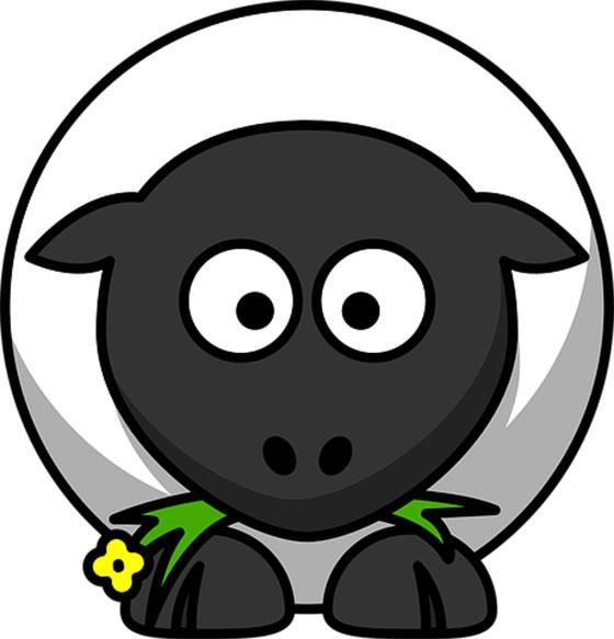 عکس گوسفند کارتونی و فانتزی