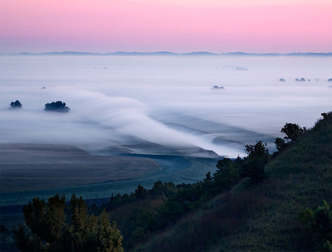 مه در طبیعت