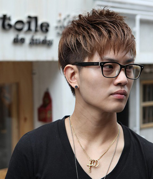 مدل مو پسرانه مردانه آسیایی