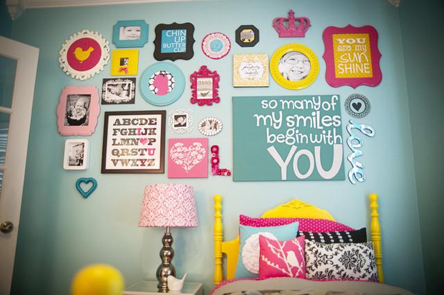عکس دکوراسیون اتاق کودک دختر