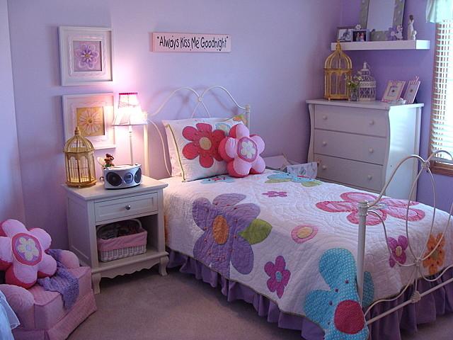 دکوراسیون اتاق کودک دختر  دکوراسیون اتاق دخترانه