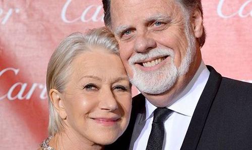 هلن میرن و همسرش تیلور هاکفورد