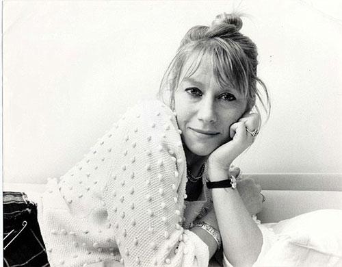عکس هلن میرن در دوران جوانی