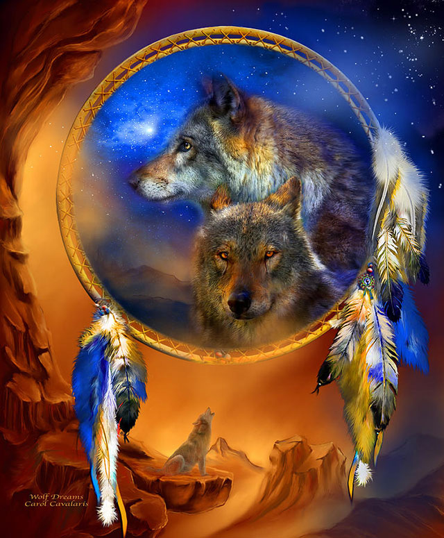 نقاشی گرگ