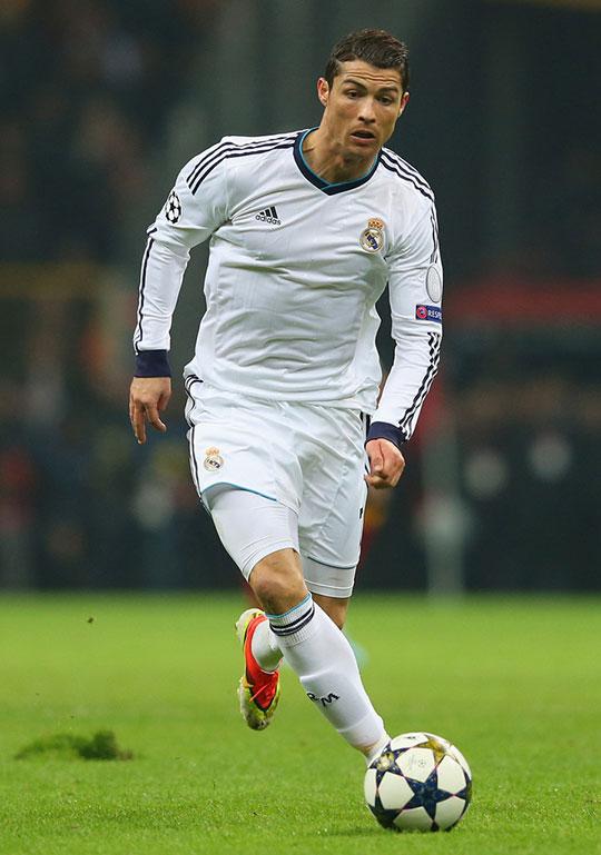 عکس کریستین رونالدو در رئال مادرید