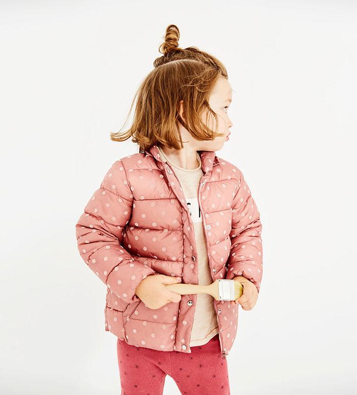 مدل کاپشن بچه گانه دخترانه