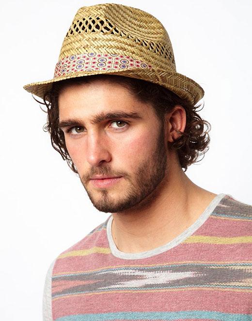 مدل کلاه حصیری مردانه