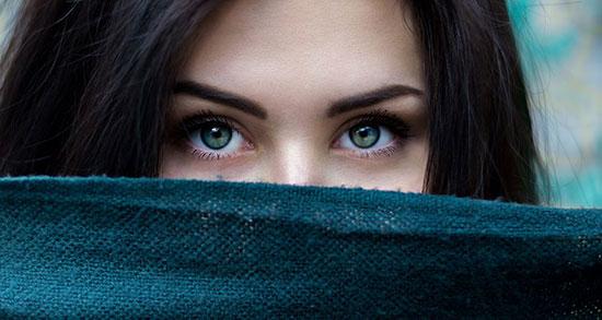 عکس دختر خوشگل با چشمان زیبا