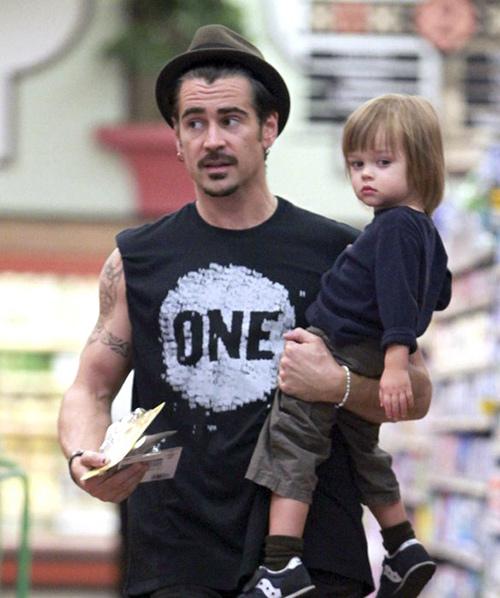 کالین فارل و پسرش هنری
