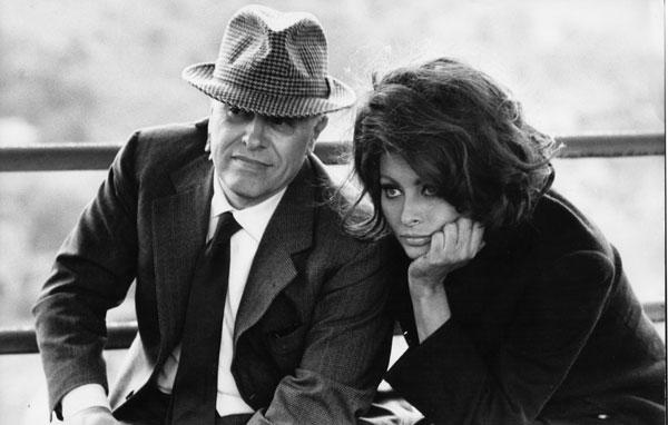 سوفیا لورن و همسرش کارلو پونتی