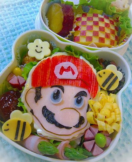 تزیین غذا به سبک ژاپنی