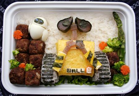 تزیین غذای ژاپنی