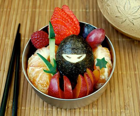 تزیین میوه برای بچه ها