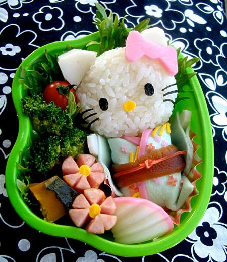 تزیین برنج برای بچه ها