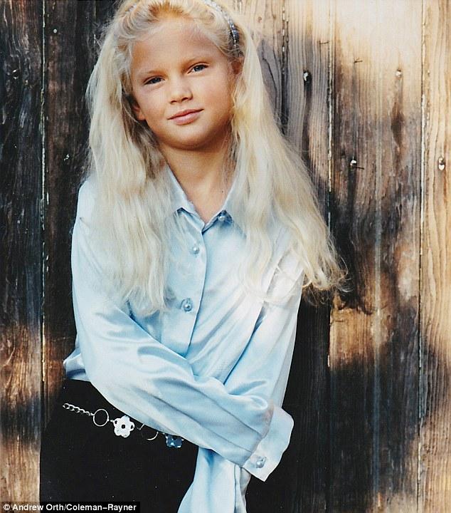 عکس تیلور سوئیفت در دوران کودکی
