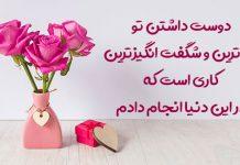 وبلاگ عاشقانه های ادبی خاص