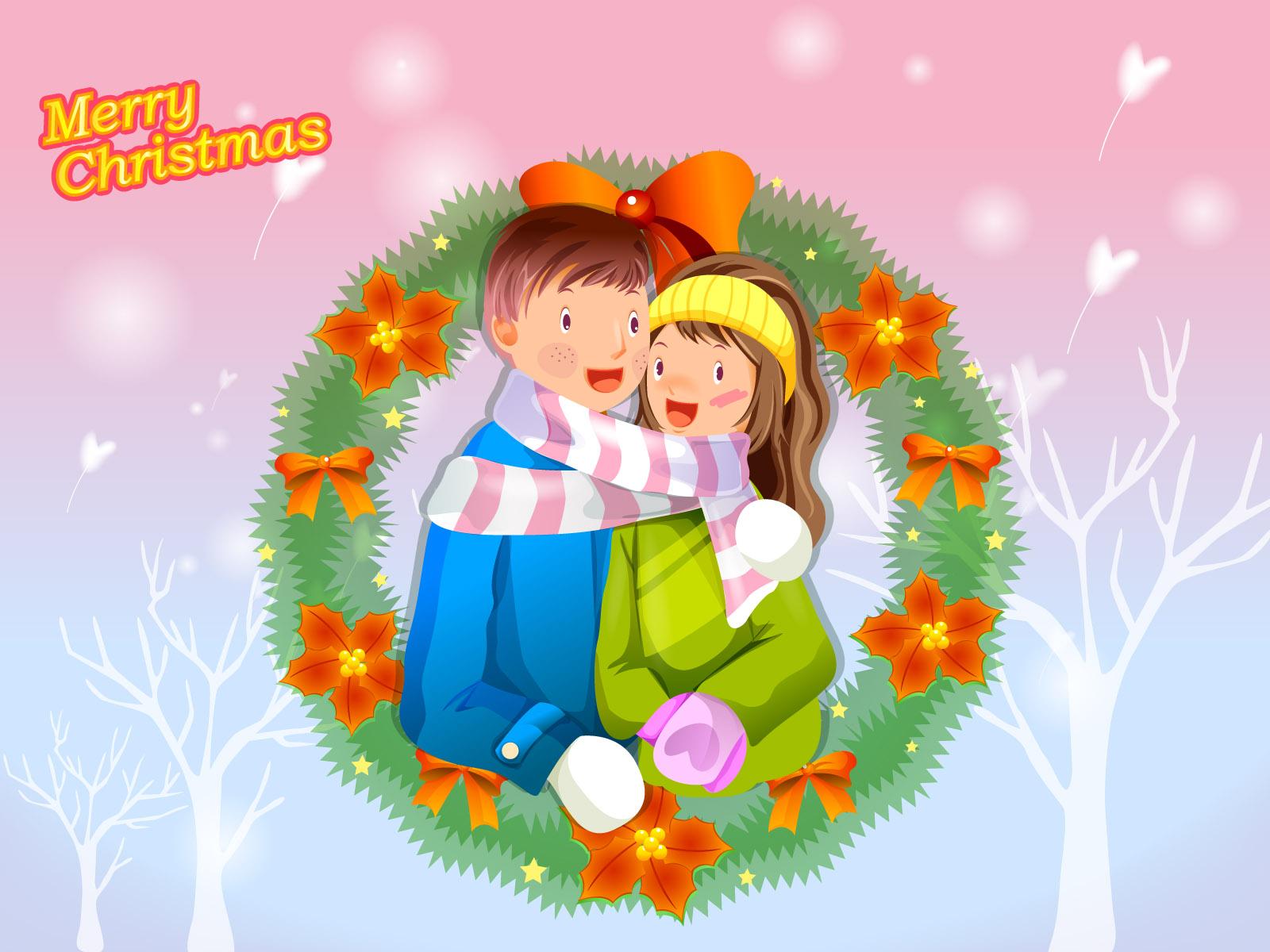 دانلود والپیپر عاشقانه کریسمس