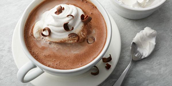 شکلات داغ با خامه