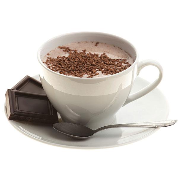 هات چاکلت با شکلات تخته ای