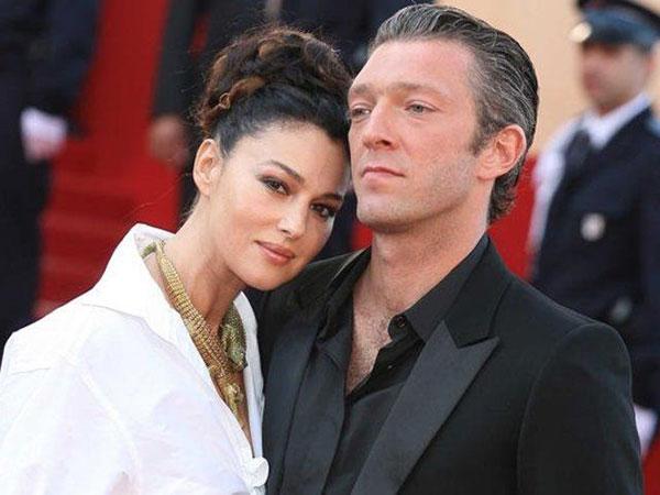 مونیکا بلوچی و همسرش وینسنت کسل