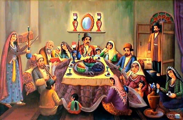 آداب و رسوم شب یلدا در اصفهان
