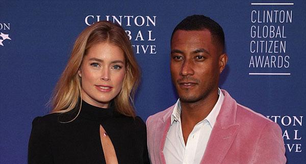 دوتزن کروس و همسرش سانری جیمز