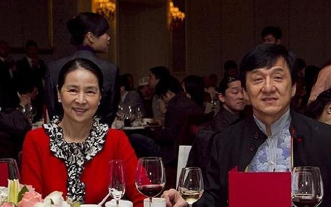 جکی چان و همسرش جوآن لین