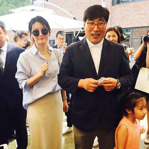 لی یونگ آئه و همسرش