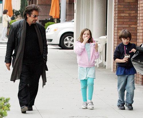 آل پاچینو و پسر و دخترش