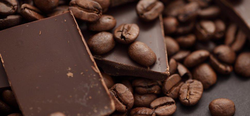 شکلات، قهوه و جوش صورت
