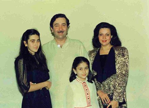 کارینا کاپور و خانواده اش