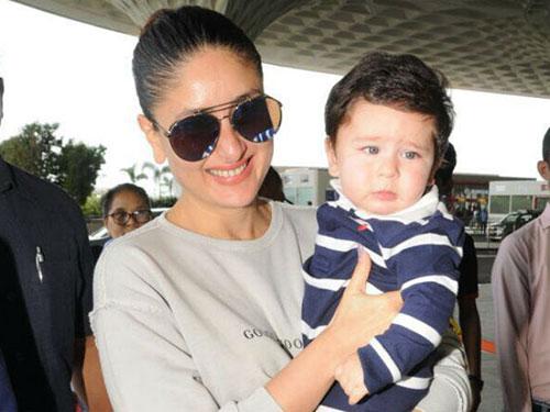 کارینا کاپور و پسرش