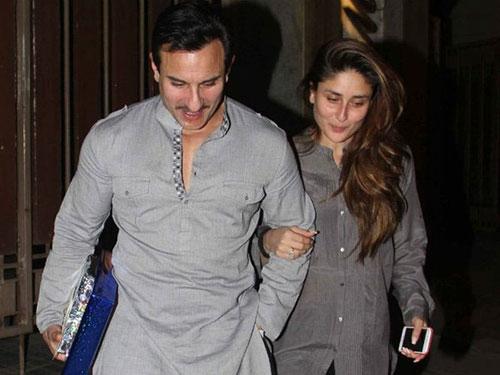 کارینا کاپور و همسرش سیف علی خان