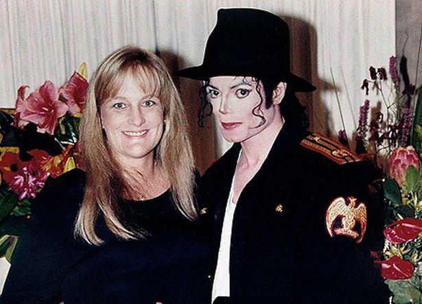مایکل جکسون و همسرش دبی رو