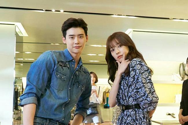هان هیو جو و لی جونگ سوک