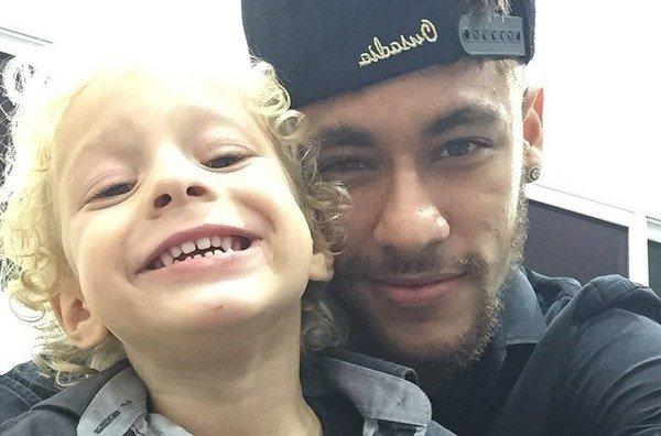 نیمار و پسرش داوی لوکا , نیمار و پسرش 2017