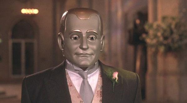 رابین ویلیامز در نقش ربات