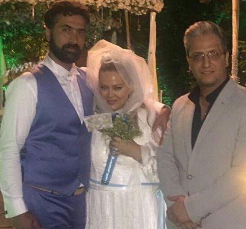 عکس عروسی بهاره رهنما و امیرخسرو عباسی