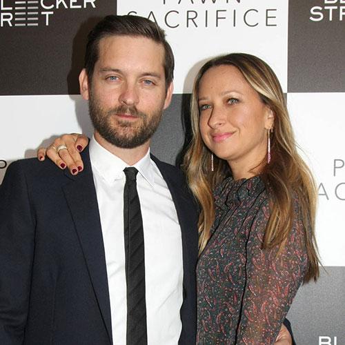 توبی مگوایر و همسرش جنیفر مایر
