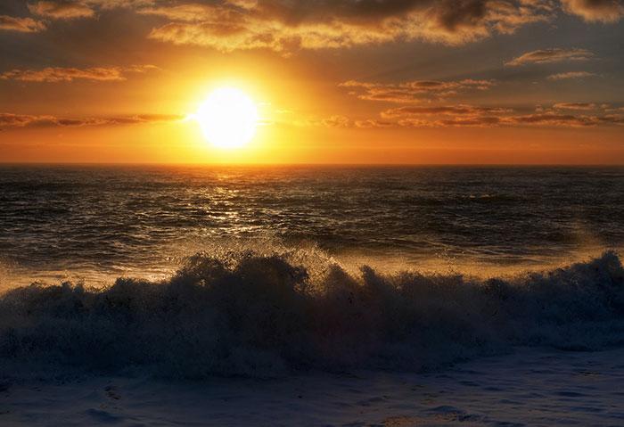 عکس های آرامش دهنده از غروب خورشید
