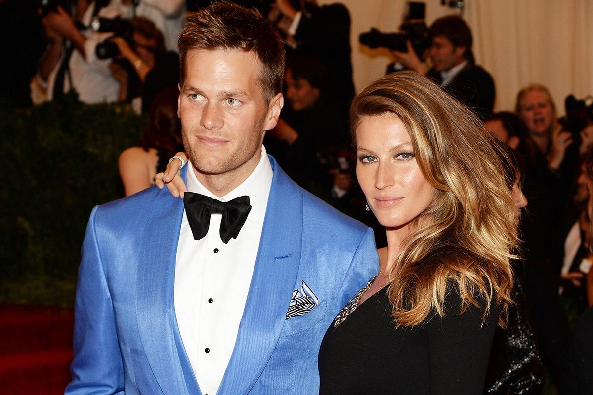 ژیزل بوندشن و همسرش تام بریدی