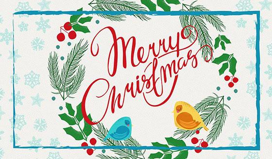 کارت تبریک انگلیسی کریسمس