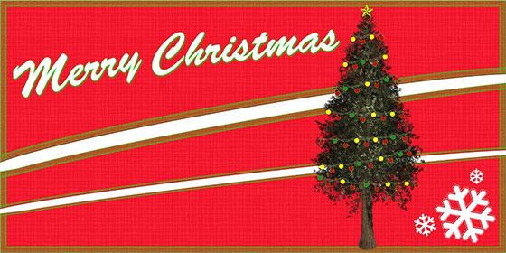کارت پستال کریسمس مبارک